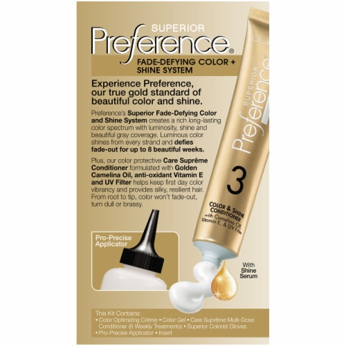 L'Oreal® Paris Superior Preference® 8S Soft Silver Blonde Permanent Hair Color Perspective: back