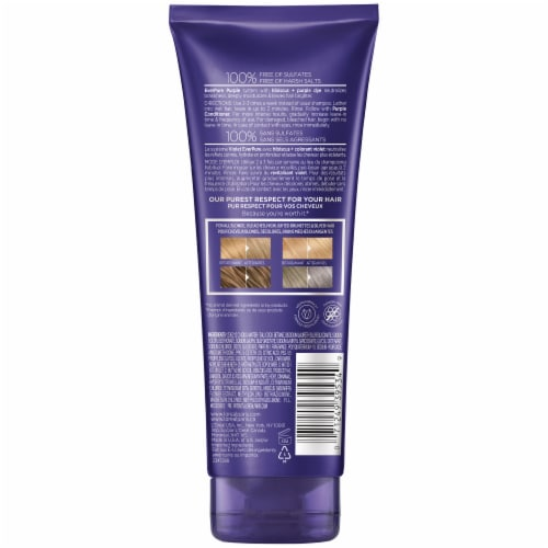 L'Oreal Paris EverPure Brass Toning Sulfate-Free Purple Shampoo Perspective: back