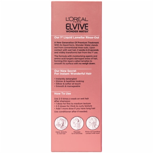 L'Oreal Paris Elvive 8 Second Wonder Water Lamellar Hair Treatment Perspective: back