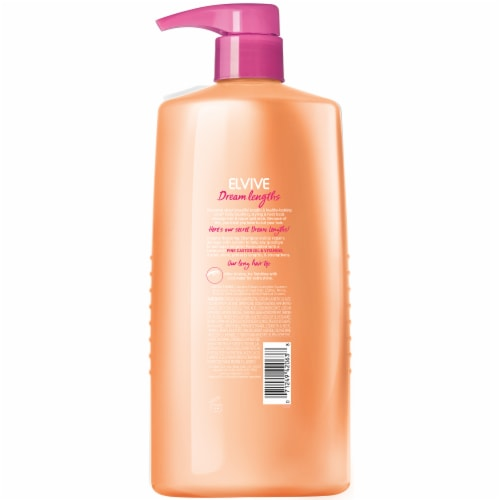 L'Oreal Paris Elvive Dream Lengths Restoring Shampoo Perspective: back