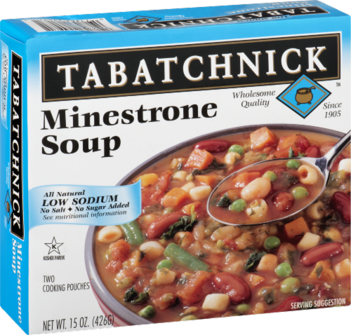 Tabatchnick Minestrone Low Sodium Soup Perspective: back