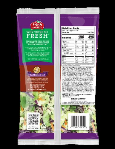 Fresh Express Kickin' Bacon Ranch Chopped Salad Kit Perspective: back