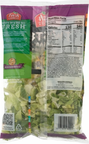 Fresh Express Avocado Caesar Chopped Salad Kit Perspective: back