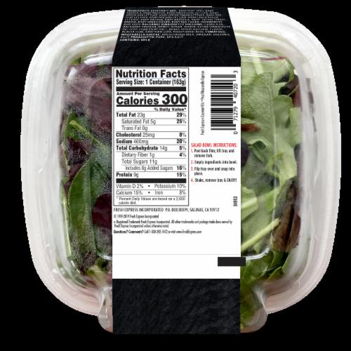 Fresh Express Pearl Mozzarella Caprese Gourmet Salad Kit Perspective: back