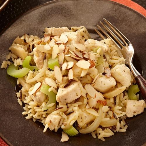 Zatarain's Long Grain & Wild Rice Mix Perspective: back