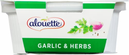 Alouette® Garlic & Herb Soft Spreadable Cheese Perspective: back