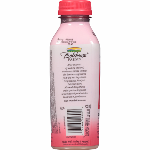 Bolthouse Farms Strawberry Protein Plus Shake Perspective: back