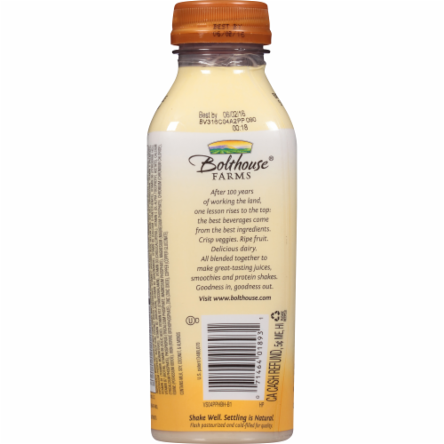 Bolthouse Farms Protein Plus Banana Honey Almond Butter Protein Shake Perspective: back