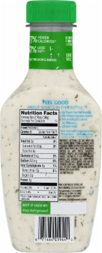 Bolthouse Farms Cucumber Ranch Yogurt Salad Dressing Perspective: back