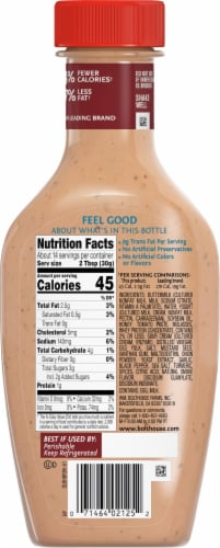 Bolthouse Farms® Honey Barbeque Ranch Yogurt Dressing Perspective: back