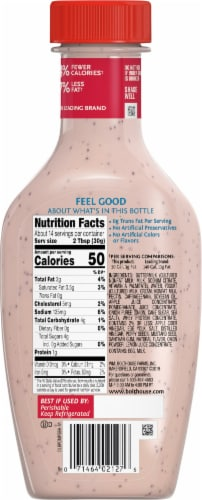 Bolthouse Farms® Pomegranate Poppy Seed Yogurt Dressing Perspective: back