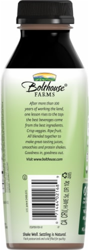 Bolthouse Farms® Hazlenut Fudge Plant-Based Keto Protein Shake Perspective: back