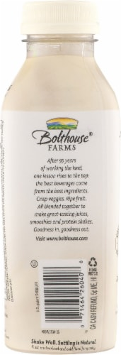 Bolthouse Farms Vanilla Chai Tea Protein Tea & Soy Beverage Perspective: back