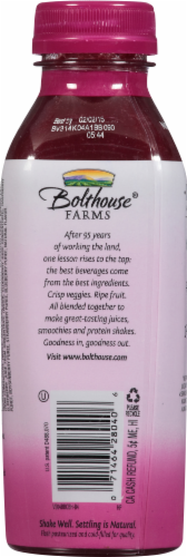 Bolthouse Farms Berry Boost 100% Fruit Juice Smoothie Perspective: back