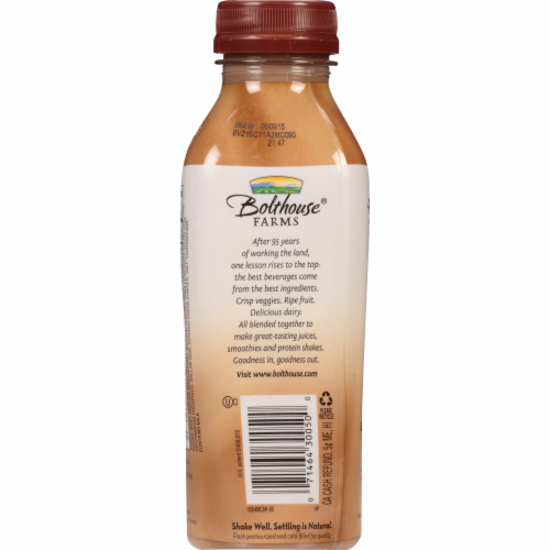 Bolthouse Farms Mocha Cappucino Protein Coffee Beverage Perspective: back