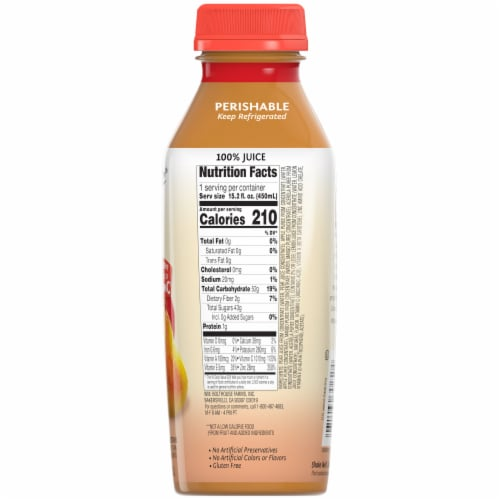 Bolthouse Farms C-Boost Fruit Juice Smoothie Perspective: back
