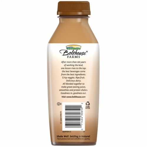 Bolthouse Farms Protein Plus Chocolate Shake Perspective: back