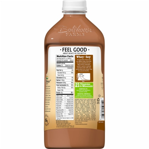 Bolthouse Farms Protein Plus Chocolate Protein Shake Perspective: back