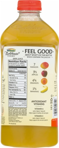 Bolthouse Farms Amazing Mango Fruit Juice Smoothie Perspective: back