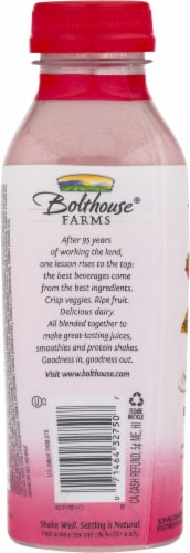 Bolthouse Farms Strawberry Parfait Breakfast Protein Smoothie Perspective: back