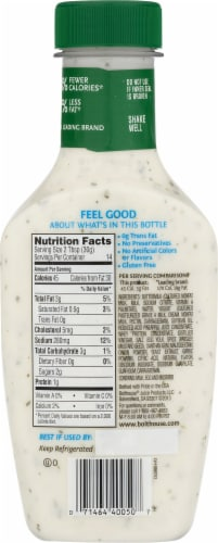 Bolthouse Farms Classic Ranch Yogurt Salad Dressing Perspective: back