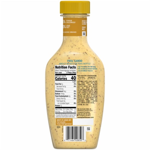 Bolthouse Farms® Honey Mustard Yogurt Dressing Perspective: back