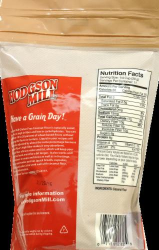 Hodgson Mill Gluten Free Coconut Flour Perspective: back