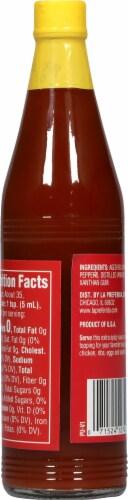 La Preferida Traditional Hot Sauce Perspective: back