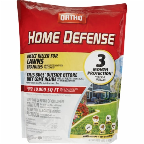 Ortho® Home Defense® Insect Killer For Lawns Granules Perspective: back