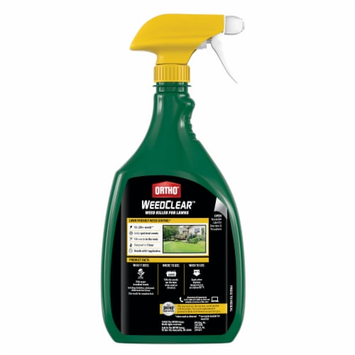 Ortho® WeedClear Weed Killer Perspective: back