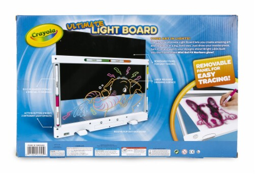 Crayola Ultimate Light Board Perspective: back