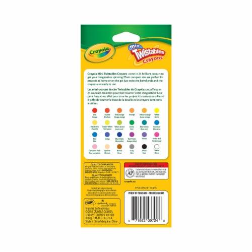 Crayola Twistables Mini Crayons Perspective: back