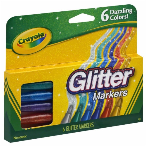 Crayola Glitter Markers Perspective: back