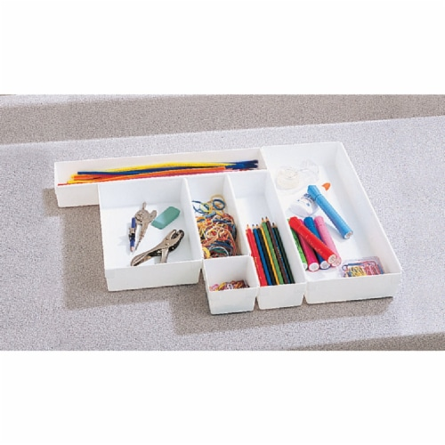 Rubbermaid 3in. X 3in. X 2in. Drawer Organizers Perspective: back