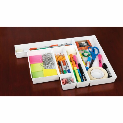 Rubbermaid 9in. X 3in. X 2in. Drawer Organizers Perspective: back