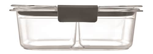 Rubbermaid Brilliance Snack Container Kit - Clear Perspective: back