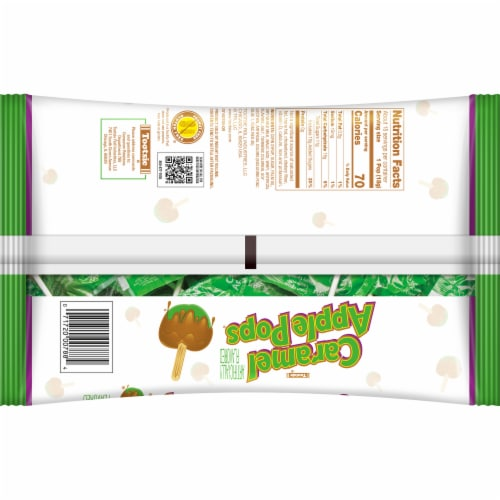 Tootsie® Roll Caramel Apple Pops® Perspective: back