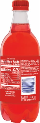 Big Red® Soda Perspective: back