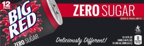 Big Red® Zero Sugar Soda Perspective: back