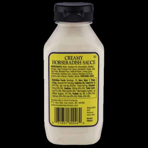 Bookbinder's Sassy Creamy Horseradish Sauce Perspective: back