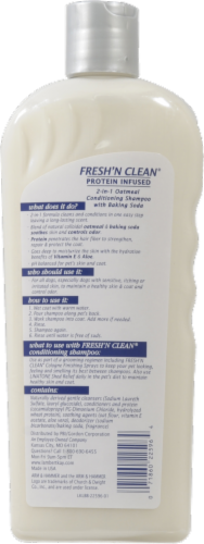 Lambert Kay Fresh N' Clean 2 in 1 Oatmeal Conditioning Shampoo Perspective: back