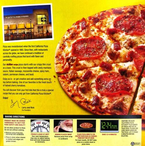 Dillons - California Pizza Kitchen Crispy Thin Crust Sicilian Recpe ...