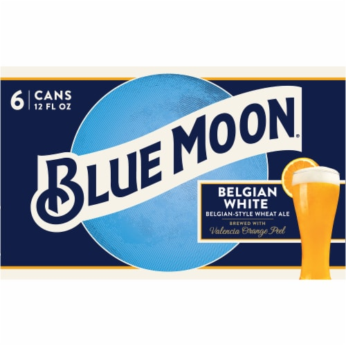 Blue Moon Belgian White Belgian-Style Wheat Ale Perspective: back