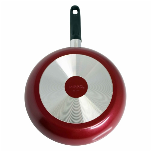 Mirro Get A Grip Nonstick Saute Pan - Red Perspective: back