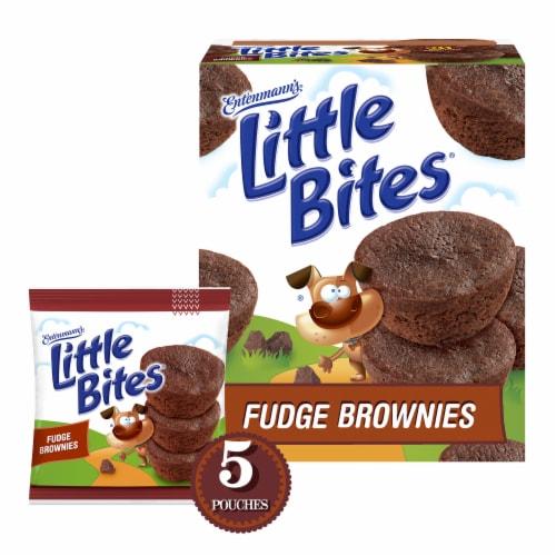 Entenmann's® Little Bites® Fudge Brownies Pouches Perspective: back
