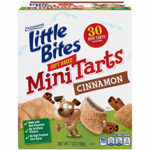 Entenmann's® Little Bites® Cinnamon Soft Baked Mini Tarts Perspective: back