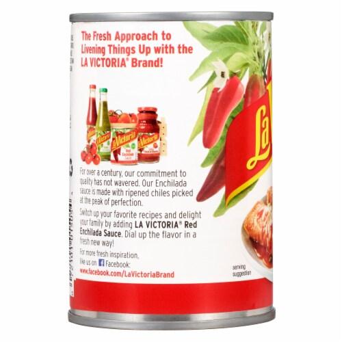 La Victoria Mild Red Enchilada Sauce Perspective: back
