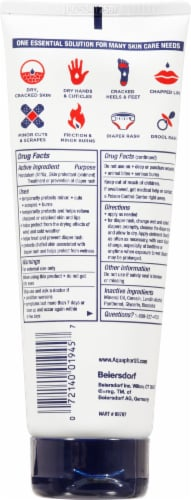 Aquaphor® Healing Ointment Advanced Therapy Skin Lotion Perspective: back