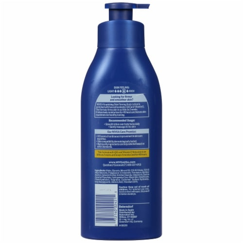 Nivea Nourishing Skin Firming Body Lotion Perspective: back