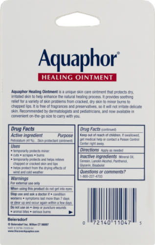 Aquaphor® Advanced Therapy Healing Ointment Perspective: back